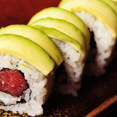 Tuna and avocado roll