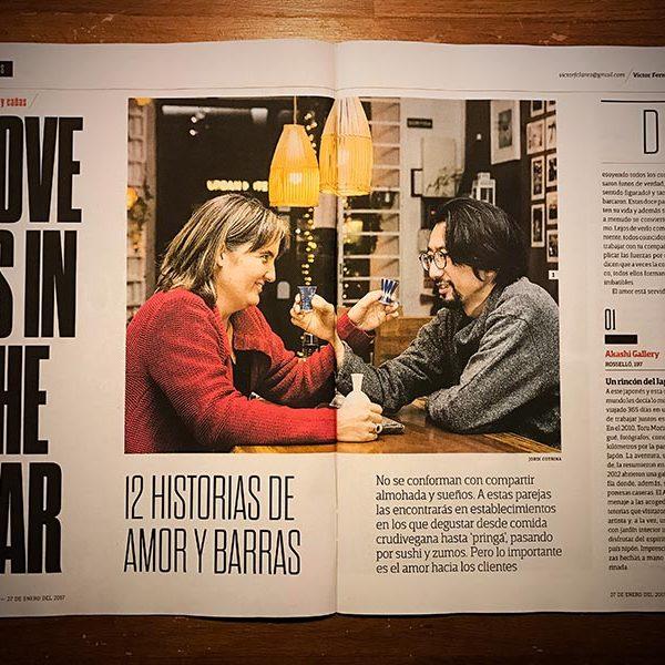 On magazine web