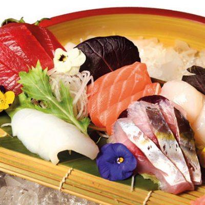 sashimi lunch menu