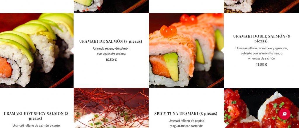 food webpage