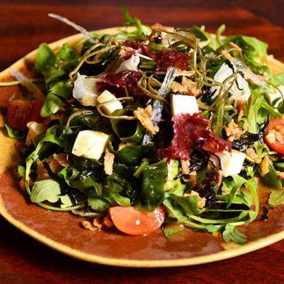 seaweed salad with tofu