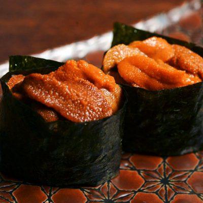 gunkan of sea urchin