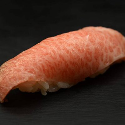 Toro nigiri, Toro is the fatty part of wild tuna